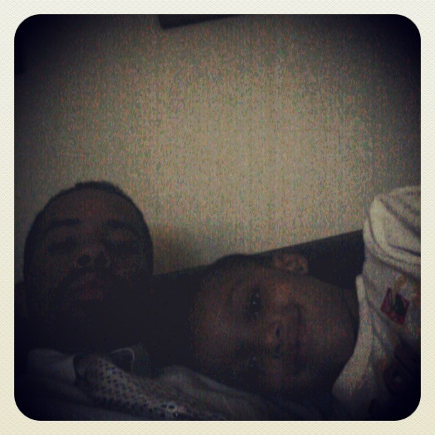 Me and my nephew maxin at my moms crib. I have big plans for this one right here:-) #love #family #black #togetherness