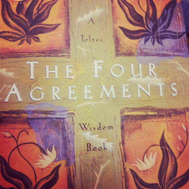 Highly important read. I think I've bought this book 20 times. #greatbook #miguelruiz