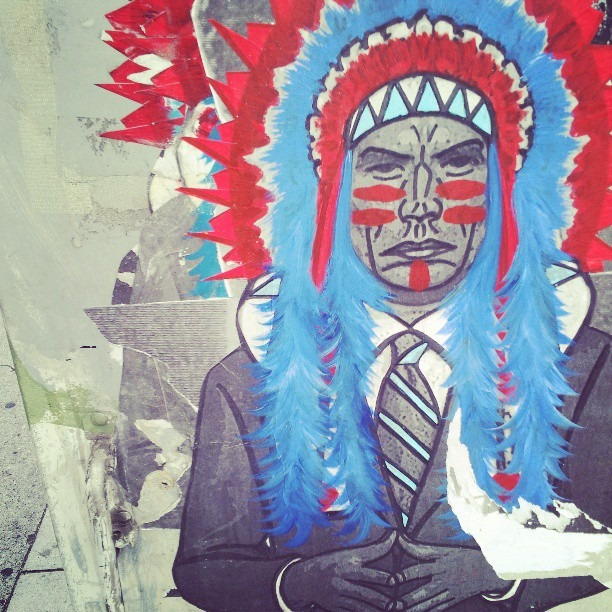 #streetart #native #paint #iselyfe