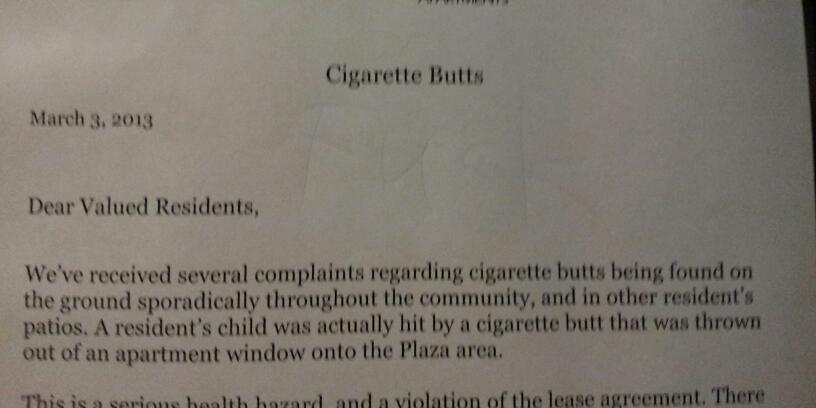 Tragic hilariousness on my elevator