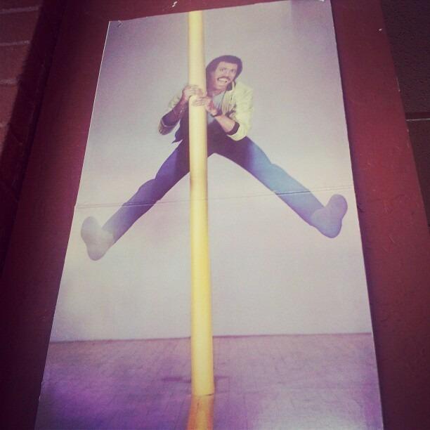 #bad idea Lionel Richie on a stripper pole… #flinging #Jericurl