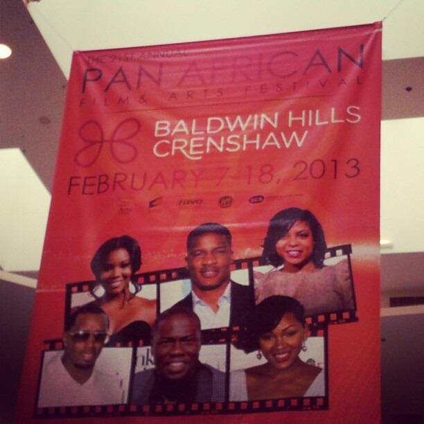 Honored to be associated with the 21st annual Pan African Film Festival! #paff #blackisbeautiful #mappingitout