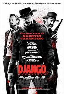 I saw Django the day it opened and have tried my best to resist jumping into the reactionary banter I knew was soon to come. As an artist that creates the alternative narrative rather than moan about a white boy and what he's doing- it is frustrating to see our predictable outcry after Spielberg or Quentin make a movie. Personally. I have not one drop of an issue with the film Django. It was uncomfortable, as expected, and there was a moment where I cried a little from many different feelings that were brought up for me. However, the movie itself is well researched in development, truthful, and at no point- AND I MEAN NO POINT, is it disrespectful or mocking towards Black people. It does however mock the hell out of racist white slave owners, police,  and overseers, and the film maker sentences them all to death. It tells a truth that has no dignity in it so you'll be hard to find dignified moments in the story. There is though a story of a Black man that loves his wife so hard he goes through hell to find her. He kills a bunch of peckerwoods along the way and even a Tom. Samuel L Jackson's character is another part of the slave tragedy that still exist today. And what's wrong with a white boy making a movie about slavery anyway? Slavery is their shit! So is the word nigger! I rather Tarantino get a Oscar award for Django than Spike get a check for directing NAVY RECRUIT COMMERCIALS (http://www.cnn.com/SHOWBIZ/TV/9905/27/lee.navy/) any day! Your Brother, Ise Lyfe