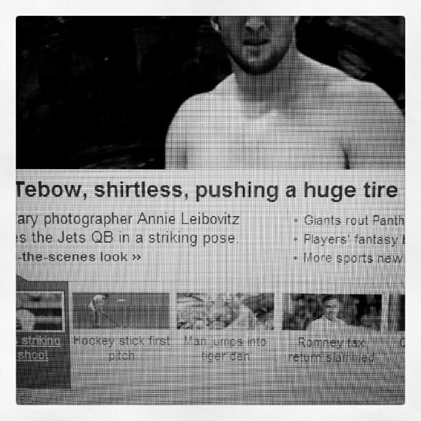 look at this stupid headline. america is in the crapper… (Taken with Instagram)