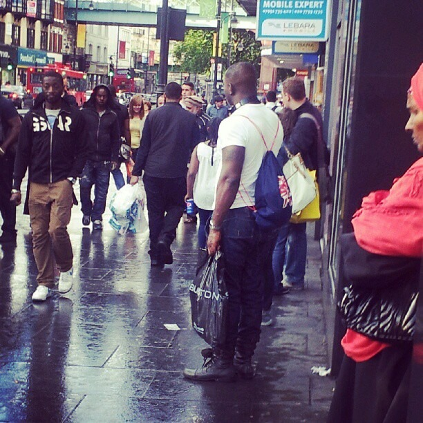 Brixton is the Black district of London. Reminds me of Harlem. #weareeverywhere (Taken with Instagram)
