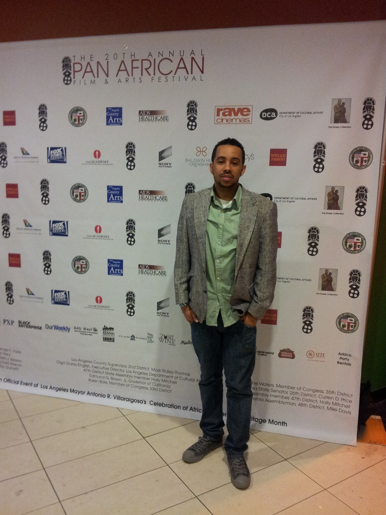 The Pan African Film Festival turned 20 this year. I came out to support P.A.F.F is definitely  #GOOD IDEA