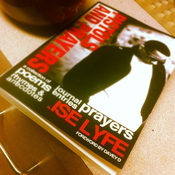 #pistolsandprayers written by @iselyfe foreword by @mrdaveyd Available at  www.shop789.bigcartel.com  $9 on #buyblackonblackfriday (Taken with  instagram )