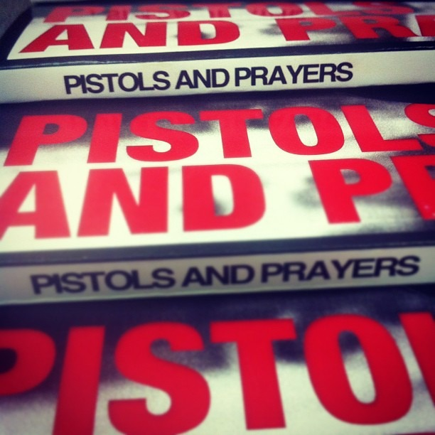 #pistols&prayers author @iselyfe Available at Shop789.bigcartel.com #book #shirt #blkfrisale A collection of #poems #prayers #journalentries #rhymes (Taken with  instagram )