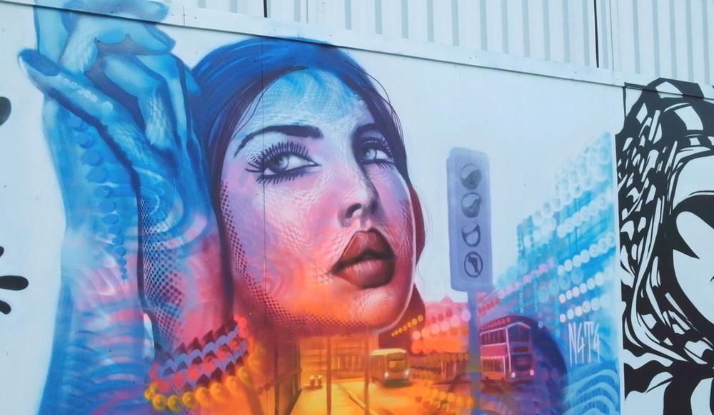 Mancunian Spray Graffiti