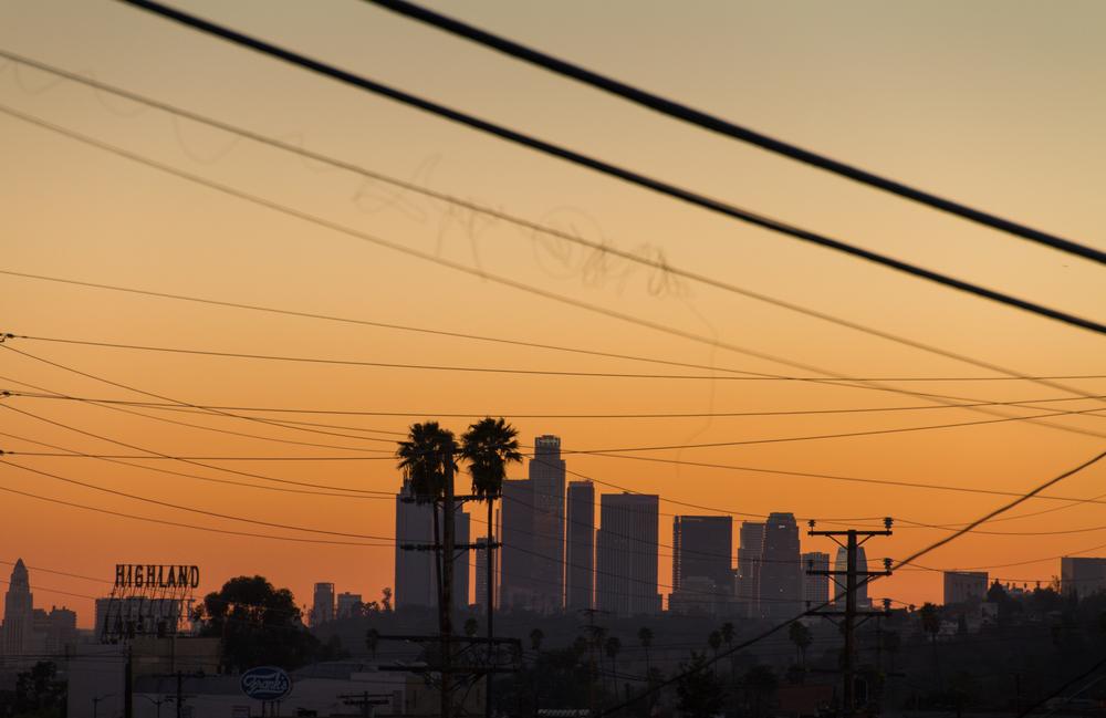 Sunset, Los Angeles