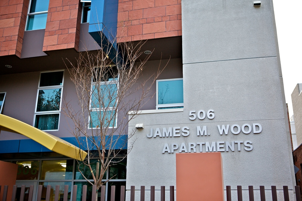 JAMES WOOD APARTMENTS LOS ANGELES, CALIFORNIA U.S.A.