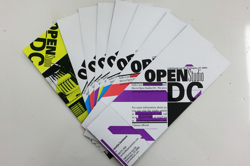 Brochure / Business Card combo for OSDC