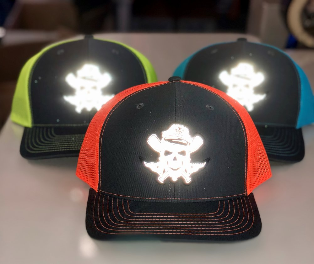 Reflective Hat Patches