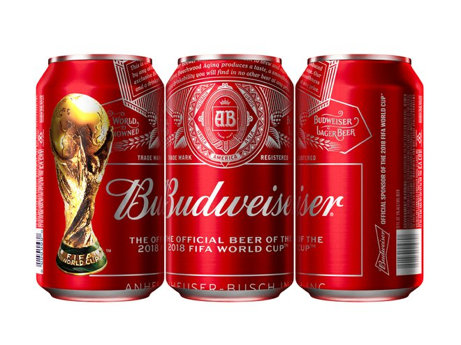 To complement this the packaging, Budweiser is also getting creative. In the UK, for instance, it has launched a two-hour delivery service in partnership with Amazon Prime Now, the chance to win tickets to the World Cup final using entry codes displayed on the packaging, and point of sale promotions at leading retailers.