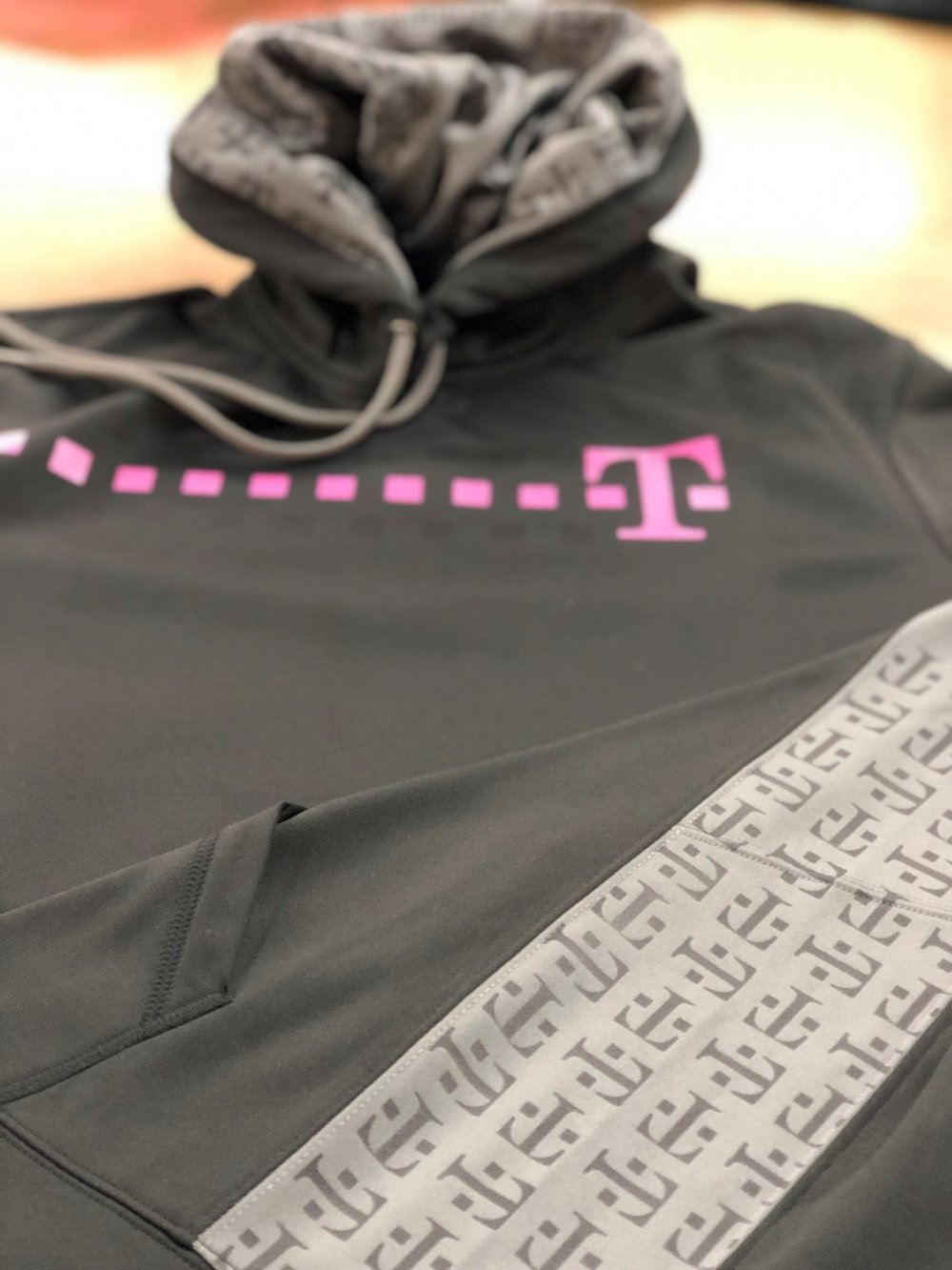Laser Etched Hoodie for T-Mobile
