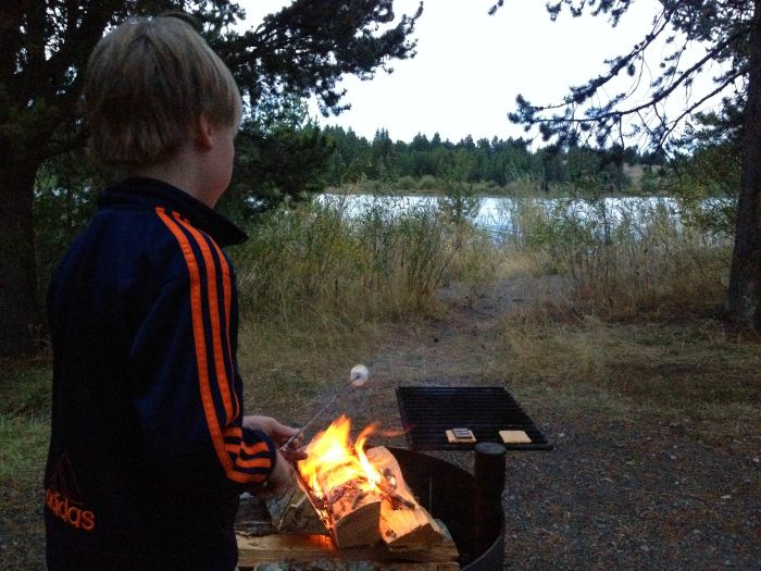 It's not a camping trip until you eat a s'more...or two.