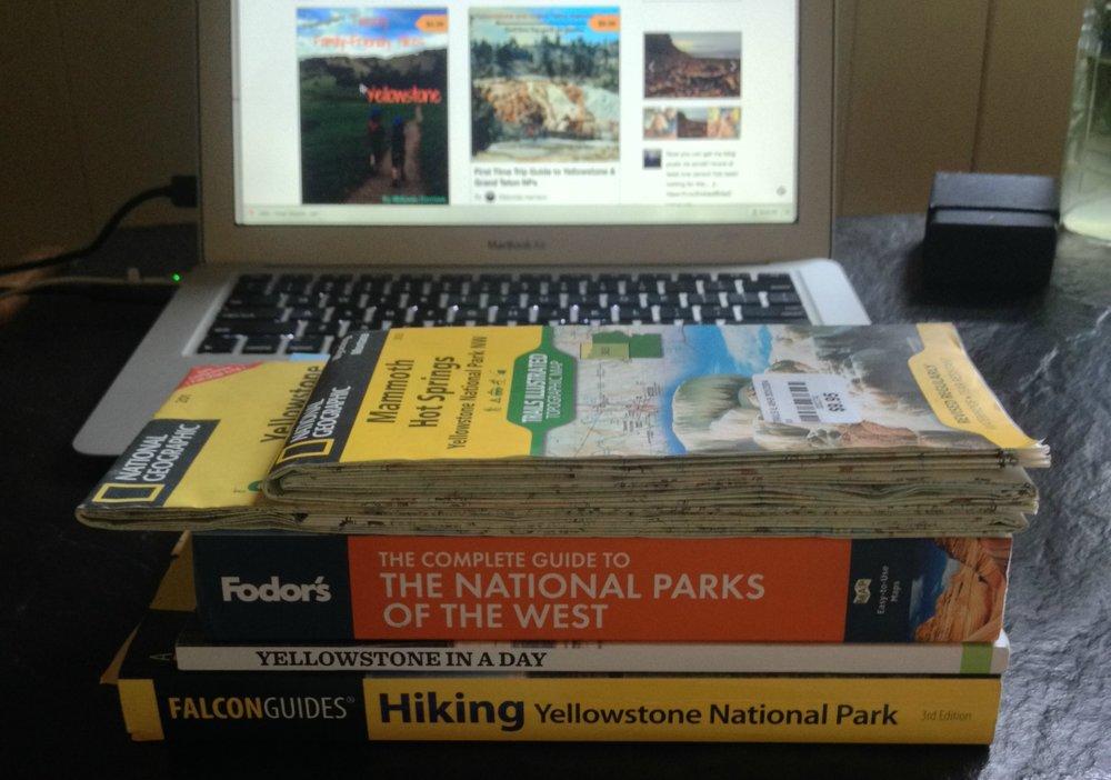 Yellowstone Guidebooks