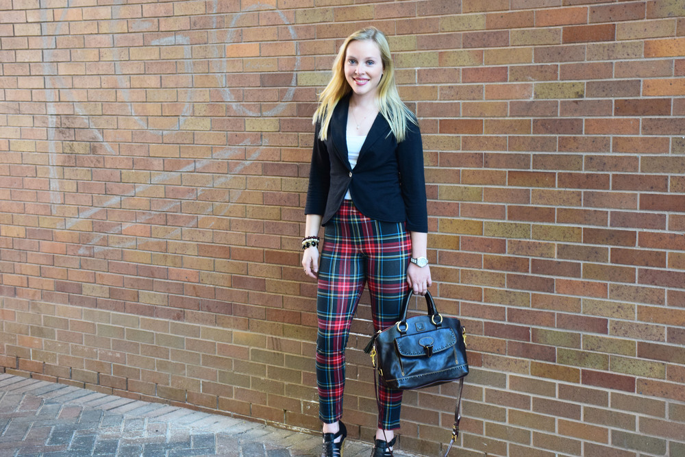 The Plaid Leggings Every Girl Needs