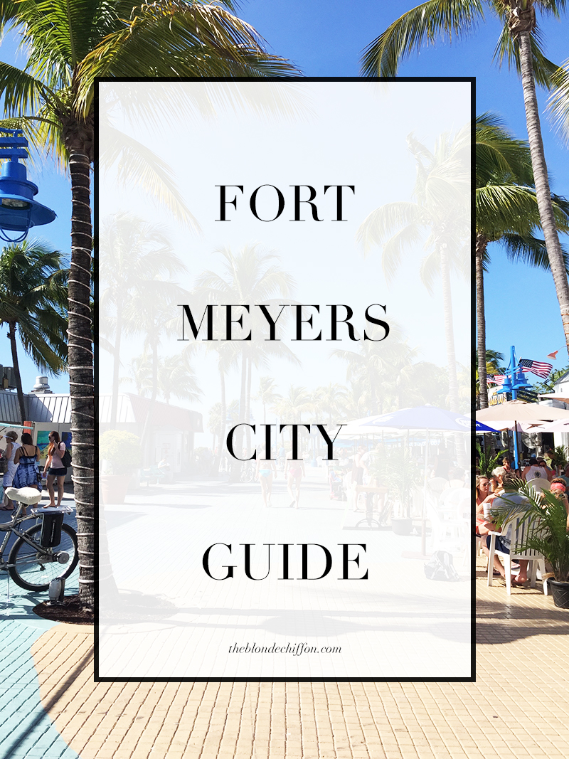 The Blonde Chiffon Fort Meyers City Guide