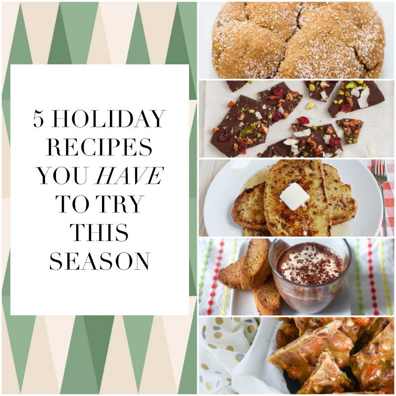 Favorite Finds: Holiday Recipes
