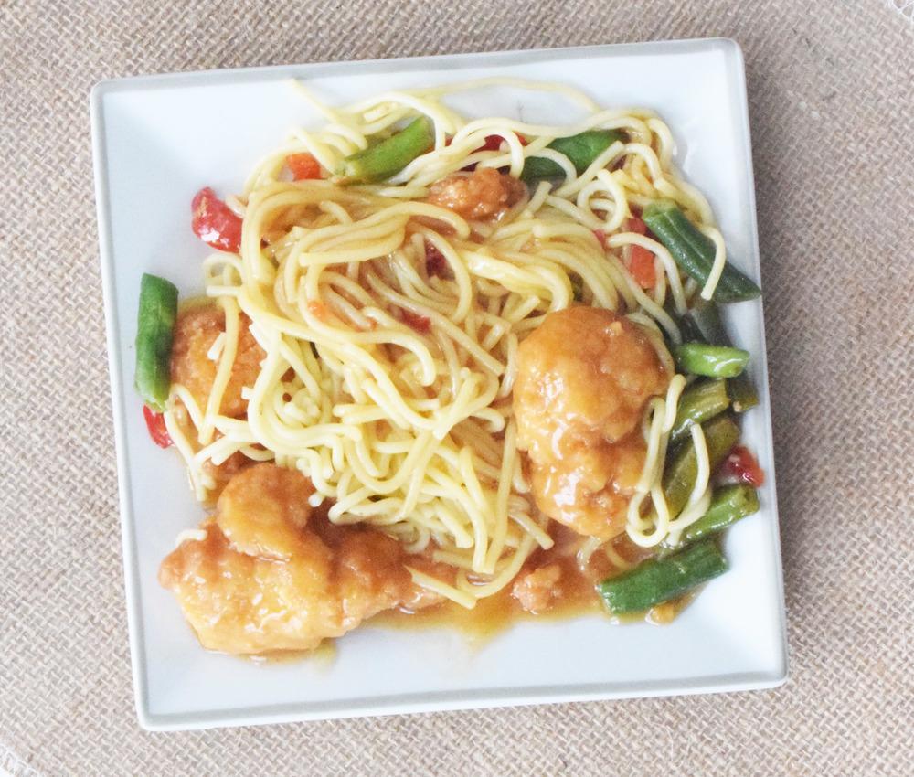 Sesame stir fry with chicken!