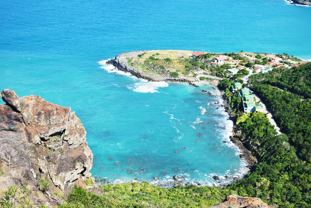 Views like this are exactly why I recommend renting an ATV on St. Barths.