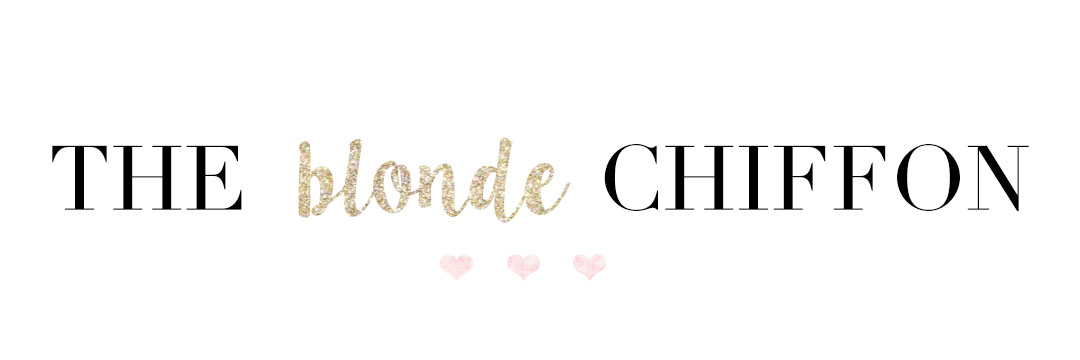 The Blonde Chiffon : A Lifestyle Blog by Holly Habeck