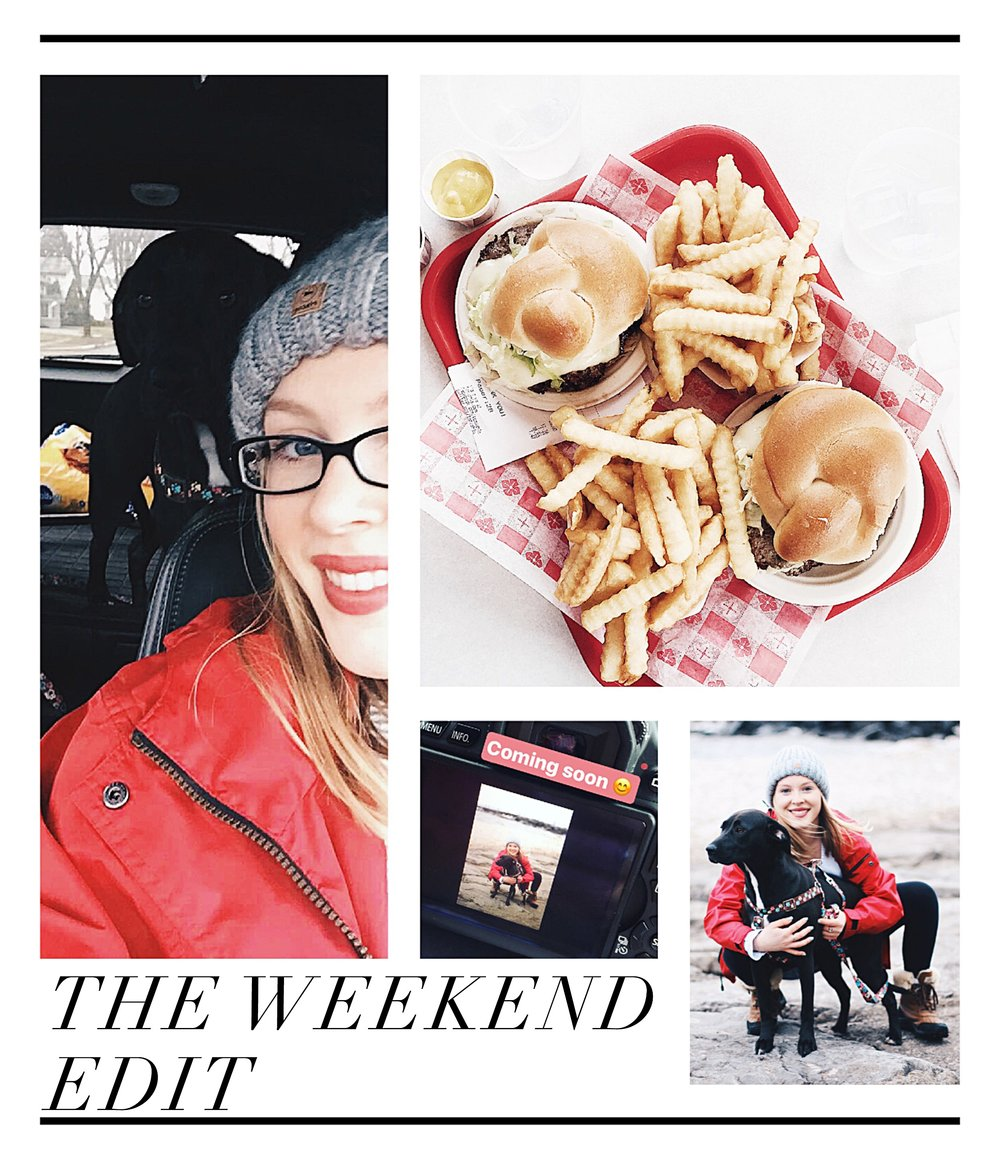 The Weekend Edit: Mega Cheat Day(s), Photoshoots, & 4-Legged Friends