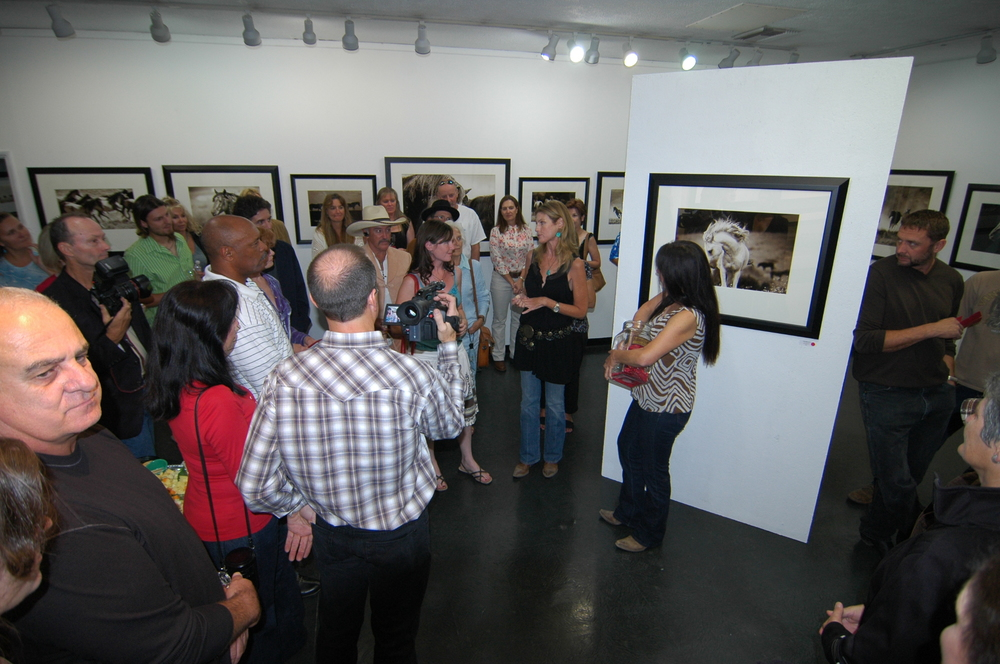 A Studio Gallery - Artist's Reception 2008