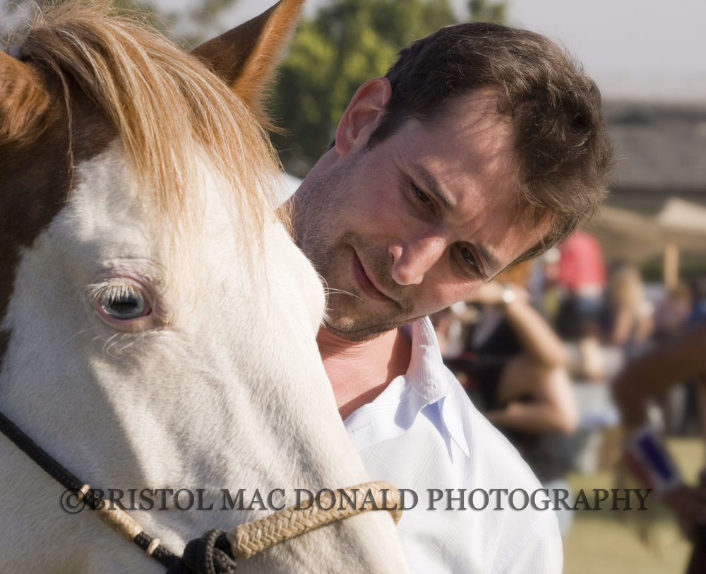 Noah Wyle with Isadora Cruce at the Spirit of the Horse Event in Santa Barbara, 2008