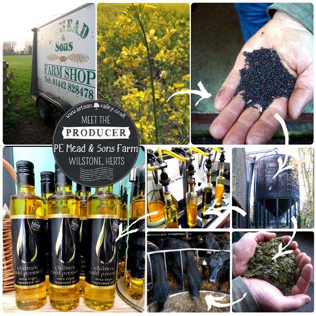How is cold pressed rapeseed oil produced