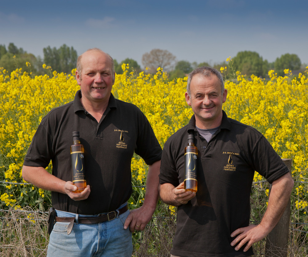 home produced oil rapeseed