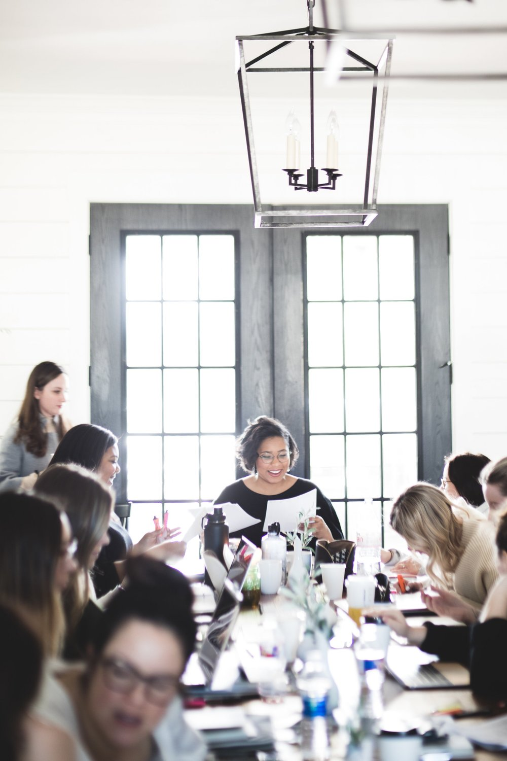 Photographs by Molly Thrasher from the Spring 2018 Editor's Course Retreat at the Fixer Upper Barndominium