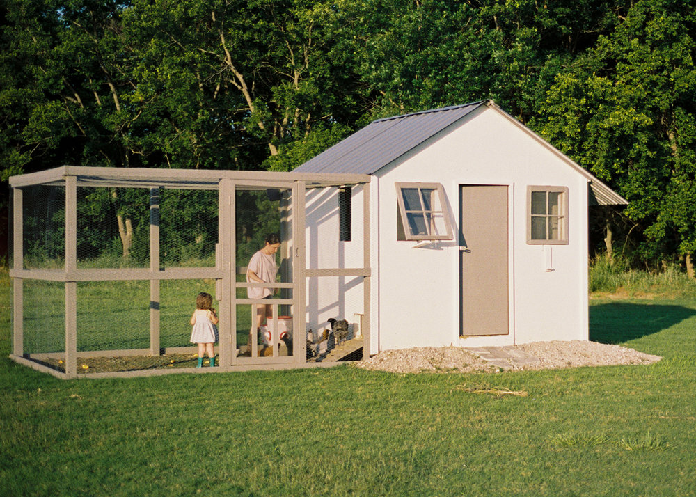 To give you perspective, my chicken coop cost about $2,500 for materials, labor, chickens and starting food.  While my dream chicken coops looked like this , I had to find a way to make it how I wanted, but not get carried away because it can get expensive fast.