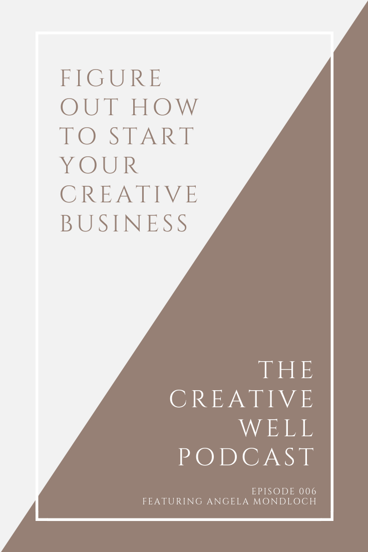 Figure out how to start your creative business | katieoselvidge.com