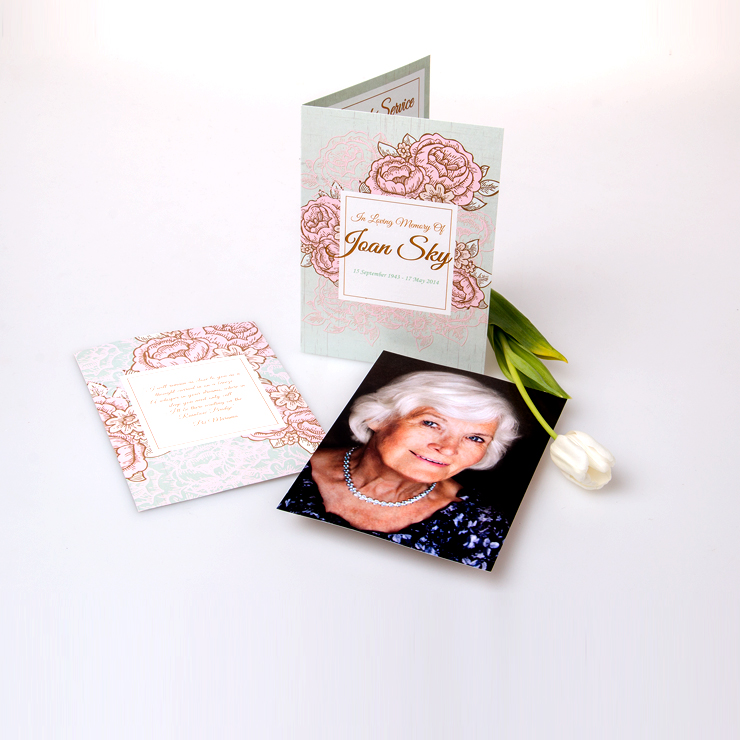 A4 booklet with insert