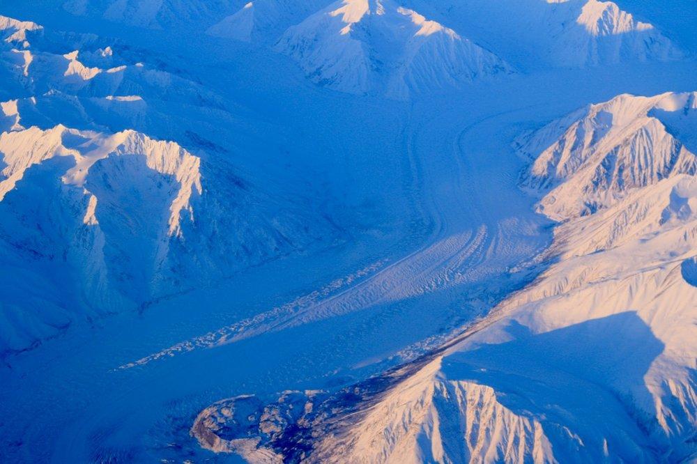 Glacier spotting