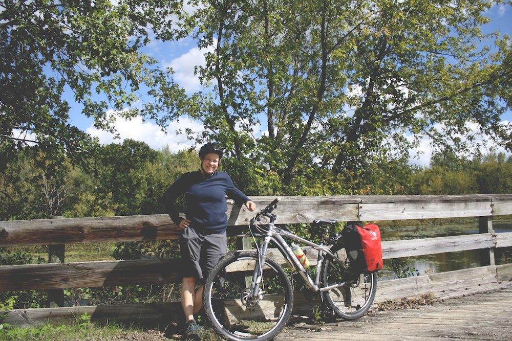 Mitt lilla cykeläventyr <20 minuter från en liten stad
