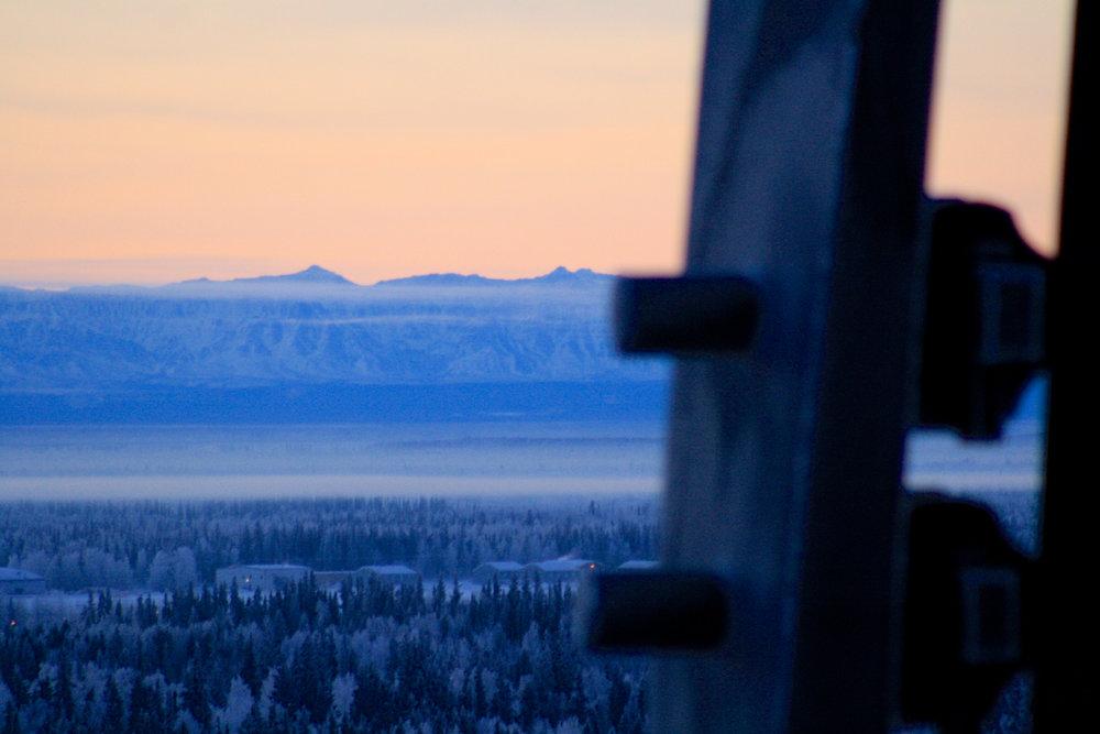 Alaska Range och Konst