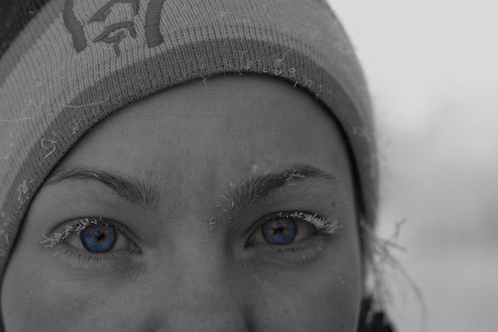 Självporträtt, taget en av de där riktigt kalla dagarna i Fairbanks, Alaska