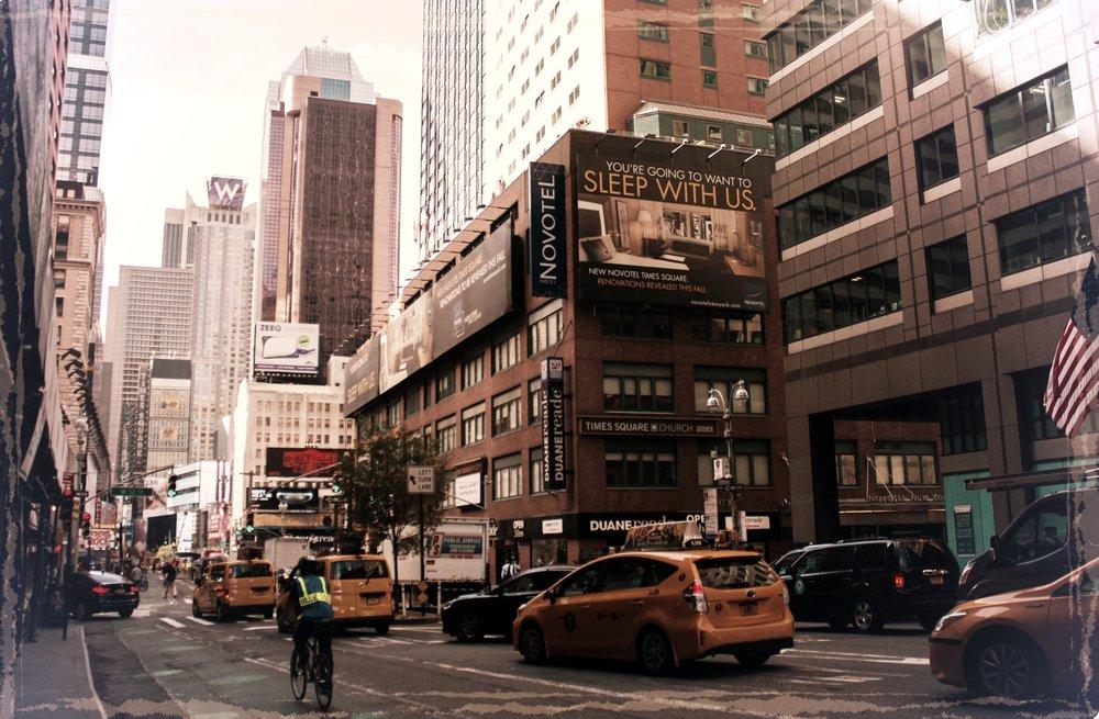 New York City - Den Stora Flytten