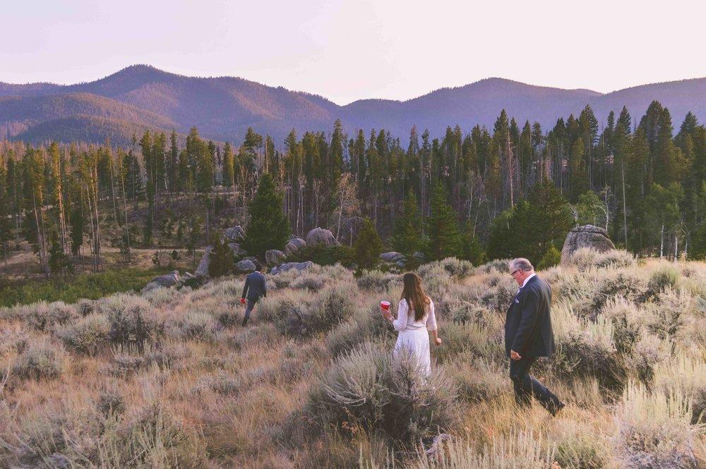 Bröllop i Klippiga Bergen