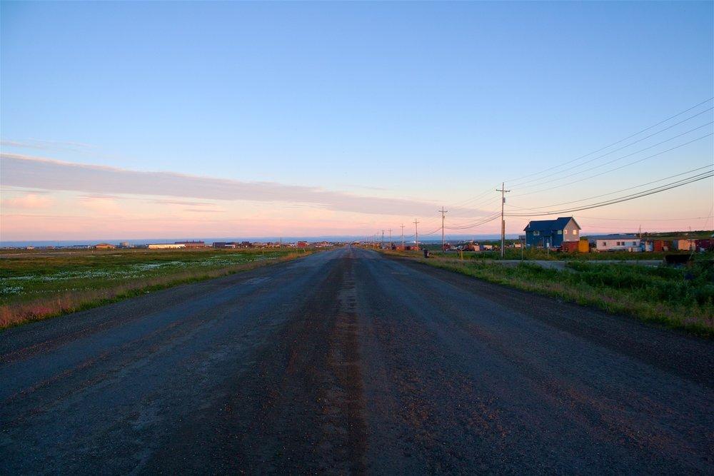 NOME - Härifrån kan man nästan se Ryssland