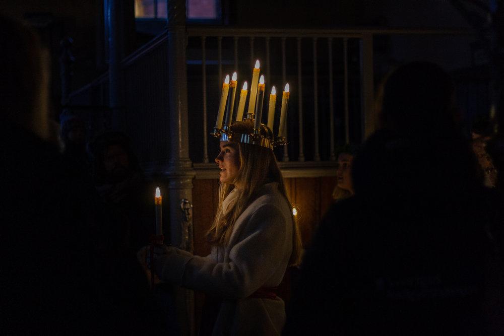 Sveriges Lucia, Hovstallet. December 2016