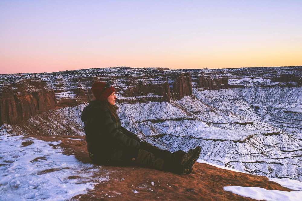 Canyonlands National Park, Utah. January 2013