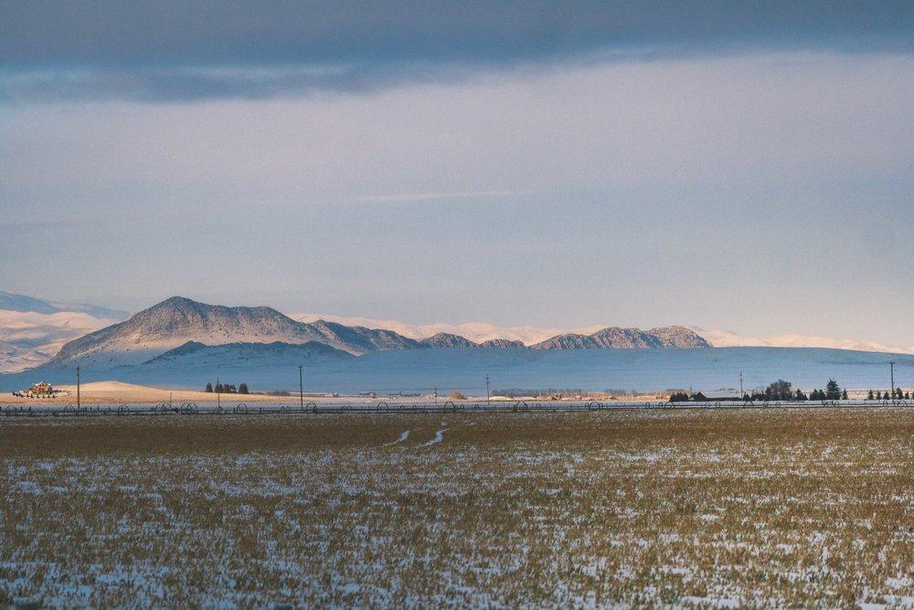 Big Sky Country, Montana. January 2017