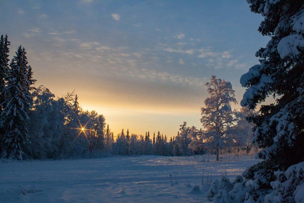 Fairbanks, Alaska. December 2014