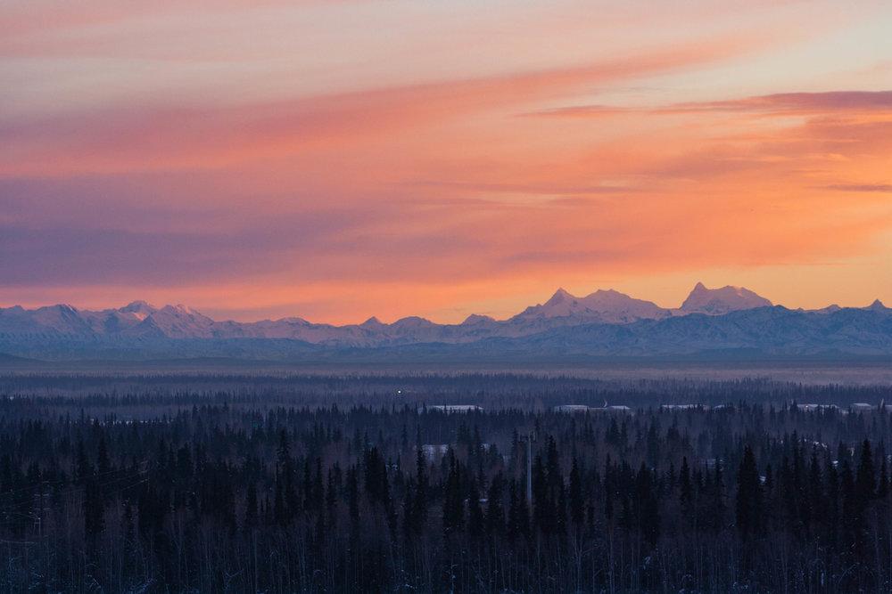 Fairbanks, Alaska. January 2016