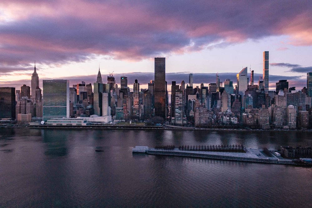 Long Island City, New York. December 2018
