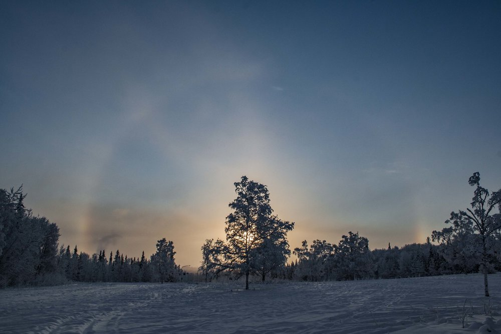 Fairbanks, Alaska. January 2015